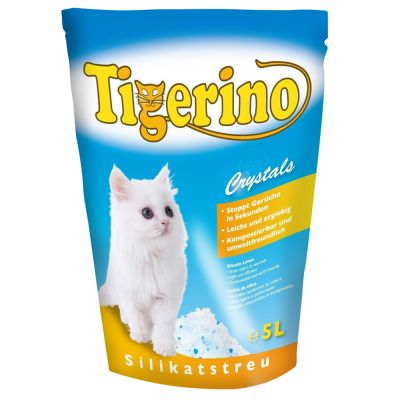 Litière Tigerino Crystals pour chat
