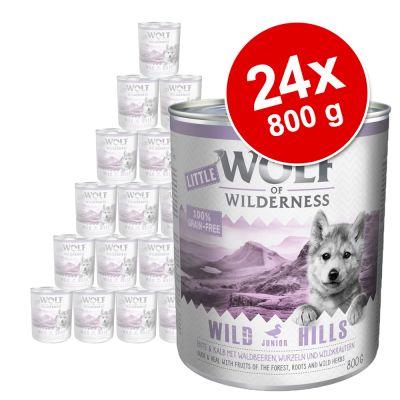 Little Wolf of Wilderness Junior 24 x 800 g
