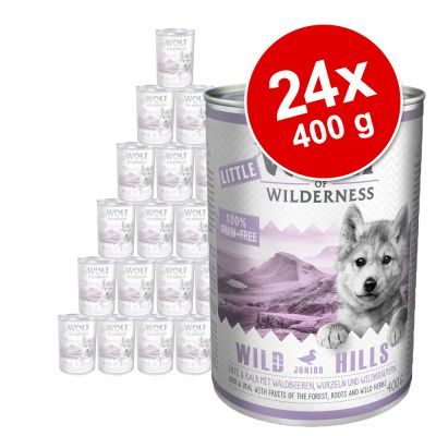 Little Wolf of Wilderness 24 x 400 g