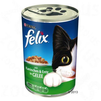 Lot Felix Emincés en gelée 24 x 400g pour chat