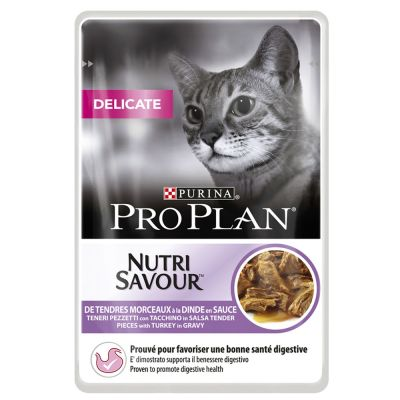 Lot PRO PLAN 24 x 85 g pour chat