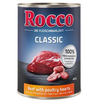 Lot Rocco Classic 24 x 400 g pour chien