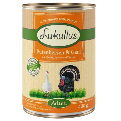Lukullus Cuori di Tacchino & Oca