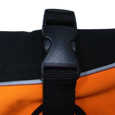 Mantella per cani Softshell arancione