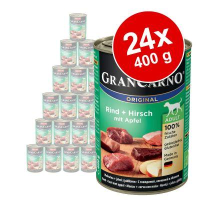 Megapakiet Animonda GranCarno Original Adult, 24 x 400 g
