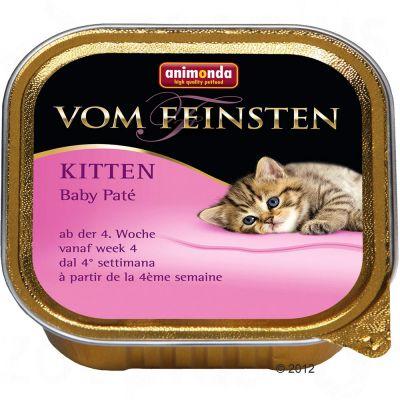 Megapakiet Animonda vom Feinsten Kitten Baby Paté, 30 x 100 g
