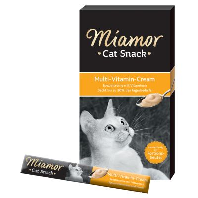 Miamor Cat Snack Pâte multivitaminée pour chat