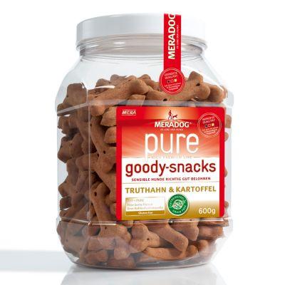 Mixpaket: Meradog pure Goody Snacks, 2 Sorten