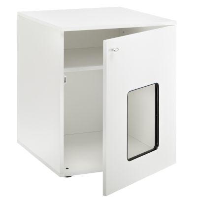 Mobile in legno per toilette