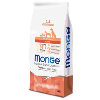 Monge Superpremium All Breeds Adult Salmone & Riso