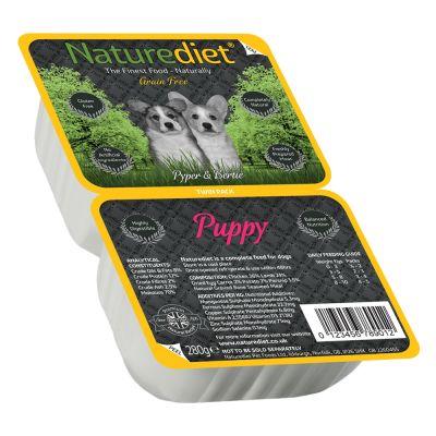 Naturediet Grain Free Twin Pack - Puppy Pollo & Agnello