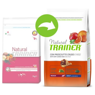 Nova Foods Trainer Natural Adult Medium Prosciutto