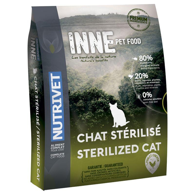meilleures croquettes pour chat stérilisé Nutrivet Inne Cat Sterilised