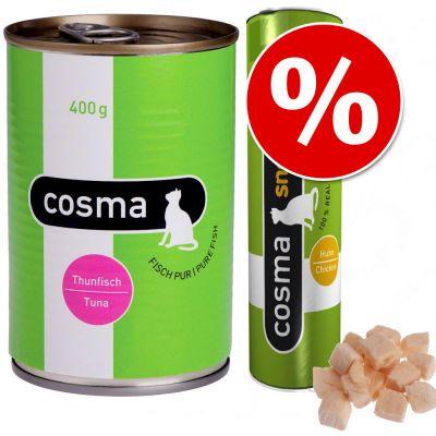 Offerta prova! Cosma Original gelée + Cosma Snackies