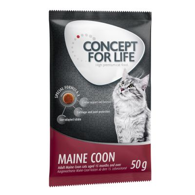 Offre d'essai 50 g Concept for Life croquettes pour chat