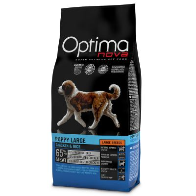 Optimanova Large Puppy Pollo & Riso