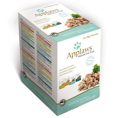 Pacco misto Applaws Buste in Jelly 12 x 70 g