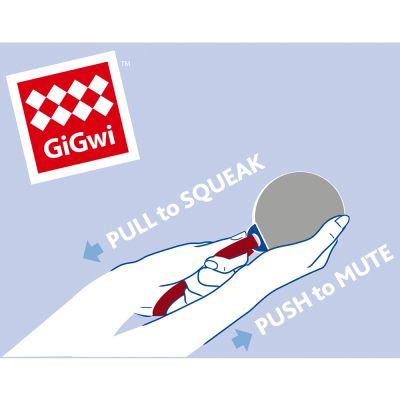 Palla con maniglia GiGwi Push to mute
