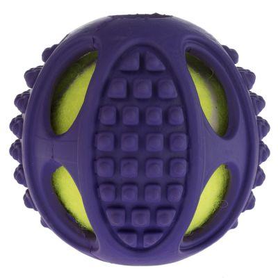 Pallina da tennis in gomma 2in1