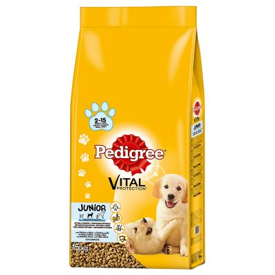 Pedigree Vital Protection Junior con Pollo & Riso