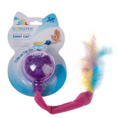 Pelota de juguete Categories® Zany Cat para gatos
