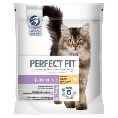 Perfect Fit Junior <1 Rijk aan Kip Kattenvoer