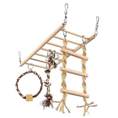 Pont de jeu suspendu Trixie Grand pour furet, rongeur et oiseau