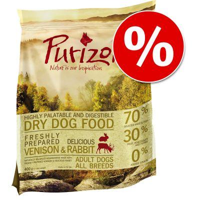 Prezzo speciale! 400 g Purizon Adult senza cereali