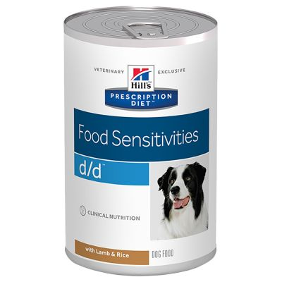 Probierpaket: Hill's Prescription Diet Canine d/d Allergy & Skin Care 12 x 370 g