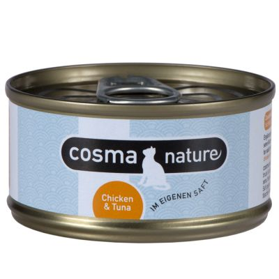 Probierset: Purizon 400 g  & Cosma Nature 6 x 70 g