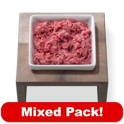 proCani Raw Dog Food Pure Meat Mixed Pack