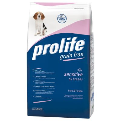 Prolife Grain Free Sensitive Maiale & Patate
