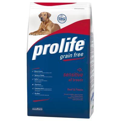Prolife Grain Free Sensitive Manzo & Patate