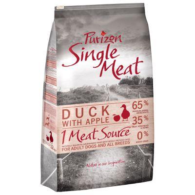 Purizon Single Meat Adult canard, pommes - sans céréales