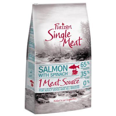 Purizon Single Meat Adult Lachs mit Spinat - getreidefrei
