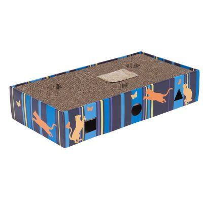 Rascador de cartón Scratch & Play para gatos