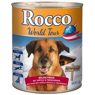 Rocco Giramondo Austria: Cinghiale, pasta & mirtilli rossi