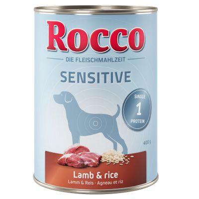 Rocco Sensitive 6 x 400 g pour chien
