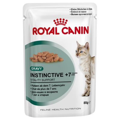 Royal Canin Instinctive +7 in Gravy