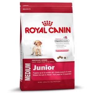 royal canin medium junior hundefutter zu discountpreisen bei. Black Bedroom Furniture Sets. Home Design Ideas