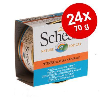 Schesir in Salsa naturale 24 x 70 g