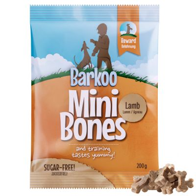 Set addestramento Barkoo Mini Bones, Clicker e Portasnack