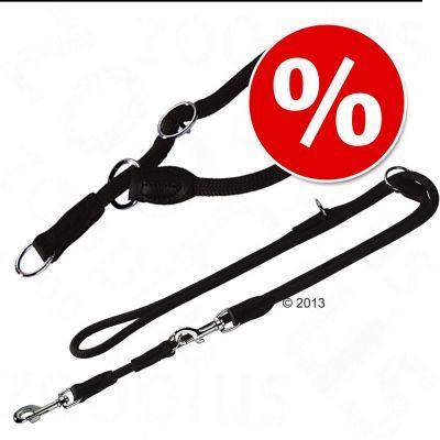 Set collare e guinzaglio - Hunter Freestyle Black