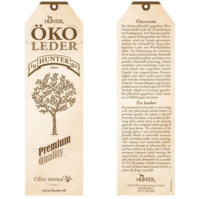 Set collare e guinzaglio - Hunter in eco-pelle Porto - tabacco/cognac