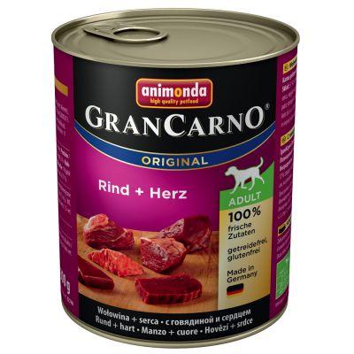 Set prova! Animonda GranCarno Original Adult  6 x 800 g