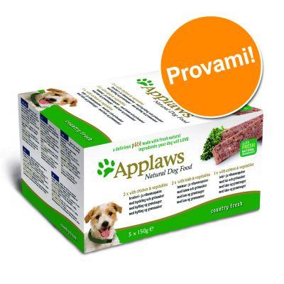 Set prova! Applaws Dog Paté  5 x 150 g