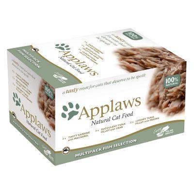 Set prova! Applaws Selection Cat Pot 8 x 60 g