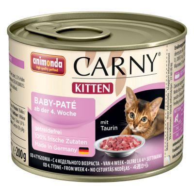 Set prova misto! Animonda Carny Kitten 12 x 200 g