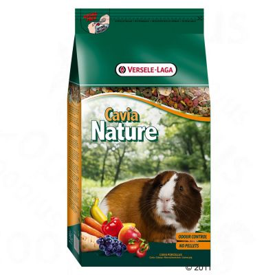 Set prova misto! Cavia Nature per porcellini d'India