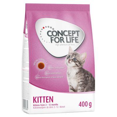 Set prova misto! 400 g Concept for Life + 12 x 85 g